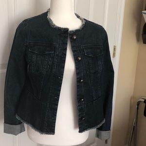Stylish jean jacket worn once
